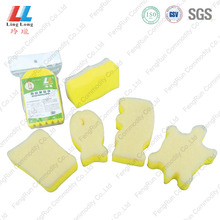 China for Green Sponge Scouring Pad dishwasher magic sponge cleaning Smooth Scrubber Pad export to Italy Manufacturer