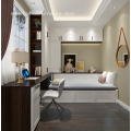 Walnut and White Customized Study Room Guest Room