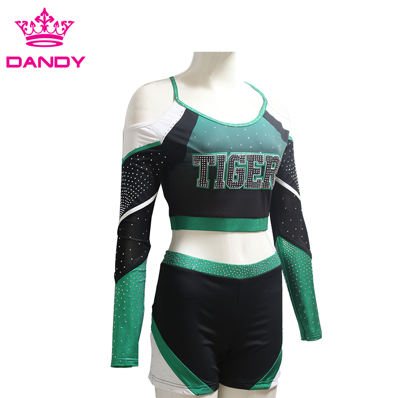 Strapless Cheer Uniform