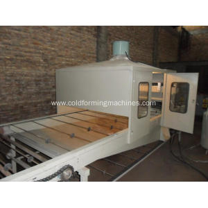 Metal sheet machine and forming Stone coated machine
