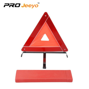 Reflective traffic safety warning tripods
