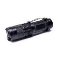 3 Modes adjustable Zoomable Tactical LED mini Flashlight