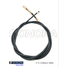 Professional for Offer Qingqi Scooter Rear Brake Cable, Baotian Scooterrear Brake Cable, Znen Scooterrear Brake Cable from China Supplier Baotian Scooter BT49QT-21A3 Rear brake cable (P/N:ST06034-0006) Top Quality supply to Indonesia Supplier