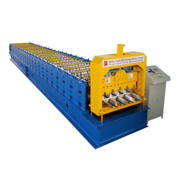 Metal Steel Floor Decking Roof Roll Forming Machine