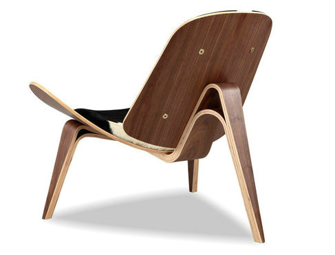 Hotel room wood chair