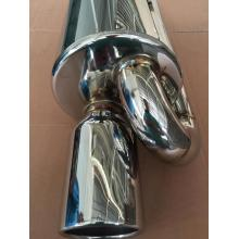 "2.25"" Stainless Steel Loop Muffler"