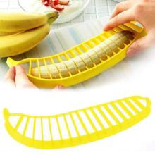 Manual Banana Slicer Cutter Fruit Chopper