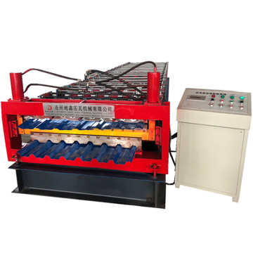 Two Profile IBR Colored Plate forming machine