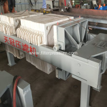 700x700mm Plate Screw Manual Filter Press