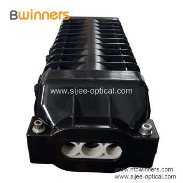 In Line Type Fiber Optic Splice Closure