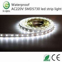 Waterproof AC220V SMD5730 led strip light
