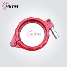 Rapid Delivery for Boom Pump Shaft Zoomlion Concrete Pump Spare Parts Bolt Clamp Coupling export to Pitcairn Manufacturer