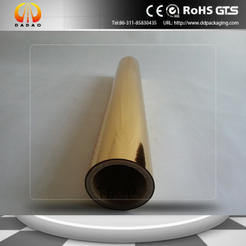 Gold Metalized Pet Thermal Lamination Film