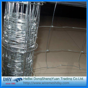 Long life galvanized woven deer farm fence/field fence