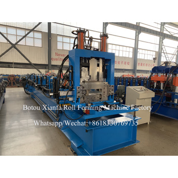 Steel Purlin CZ Integrated Roll Forming Machine