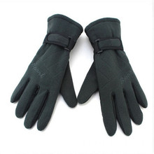 Custom Logo Winter Fleece Gloves Nuovo design