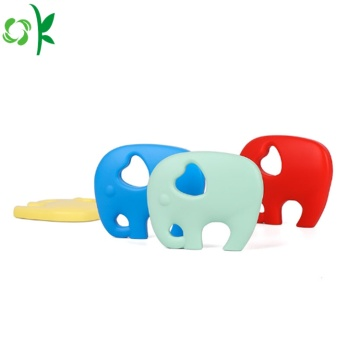 BPA Free Elephant Silicone Teether for Baby Wholesale