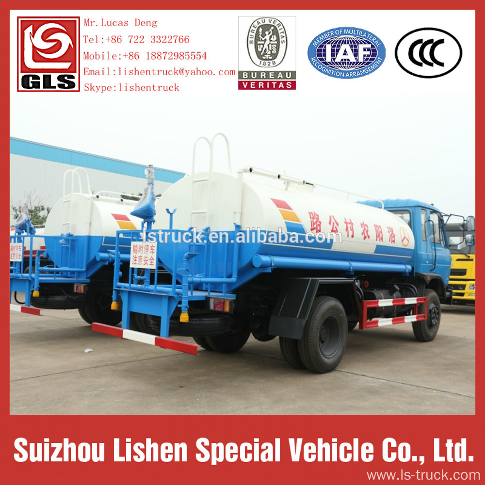 10000L Water Tanker Truck 4*2 Dongfeng