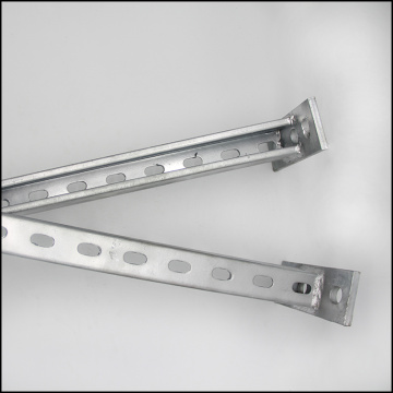 Hot Dip Galvanized Steel Slotted Strut Channel with C Channel Unistrut