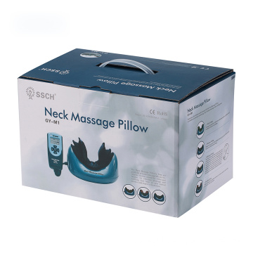 air pressure vibrator heat massager pillow