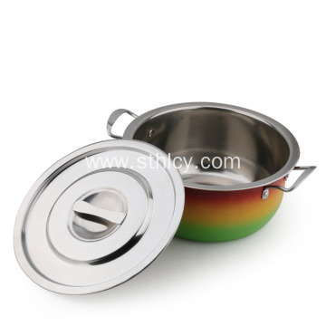 Exquisite Design Stainless Steel Saucepan