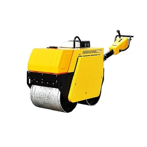 Self-propelled  type single drum vibratory road roller