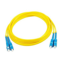 SC-SC UPC single mode OS2 duplex patch cable