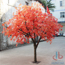 Flame Resistant Artificial Maple Tree