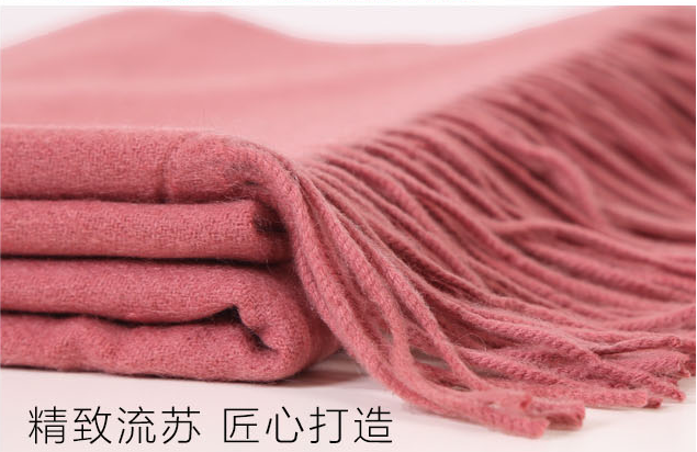 Cashmere throw -4