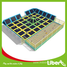 CE approved kids best indoor trampoline park for sale