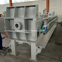 Frame Plate Oil Sludge Filter Press Equipment