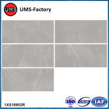 Long thin grey rectangular wall tiles