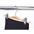 Wood Laminated Hangers With Clips