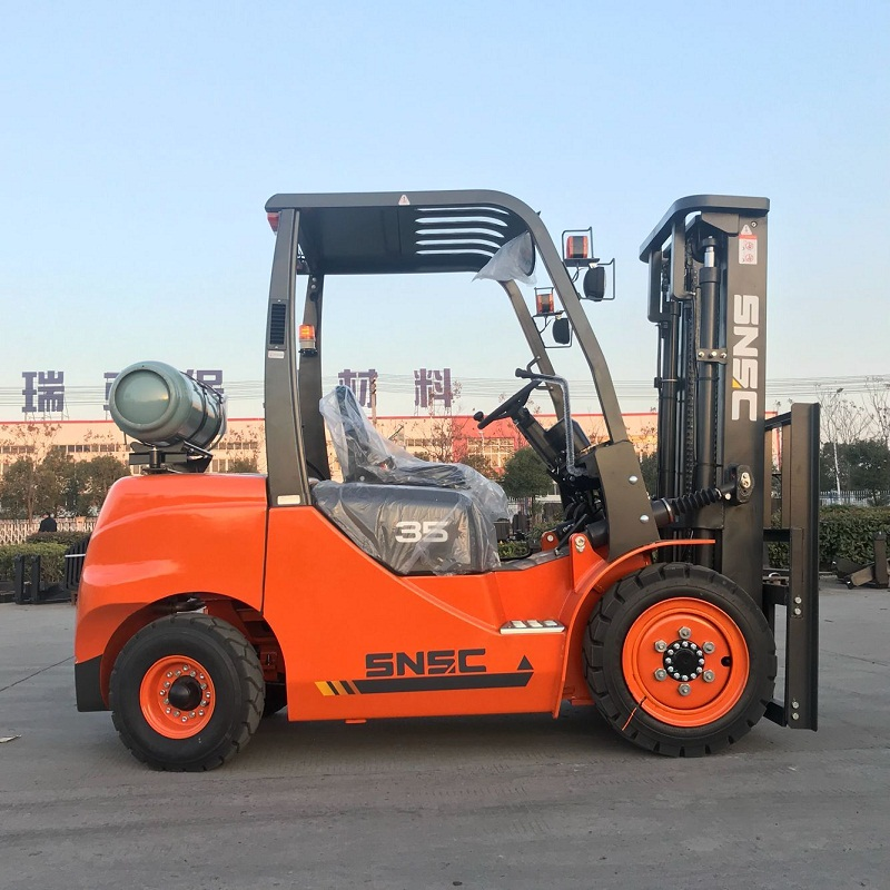 FL35 3.5 ton gas forklift exported to Mexico from sheri-1