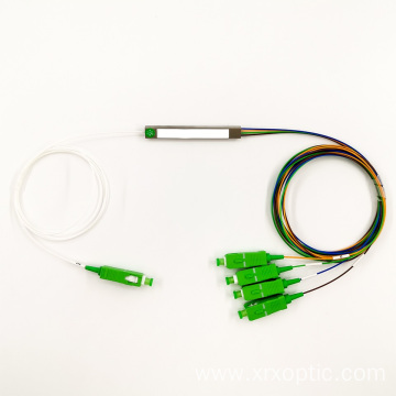 1x4 Fiber Optic PLC Mini Module Splitter