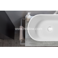 Pure resin and ATH countertop washbasin for bathroom
