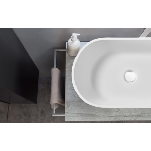 Pure acrylic stone resin countertop washbasin for washroom