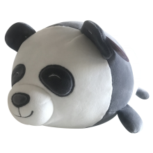 Plush Pillow Panda In Black And White