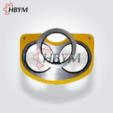IHI Concrete Pump Parts Wear Resistant Plate