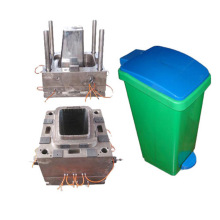 Free sample for for Plastic Crate Injection Mould Indoor small garbage bin plastic injection mould supply to Saint Vincent and the Grenadines Factory