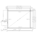 15 inch AMT 4-wire Resistive Touch Panel 9102