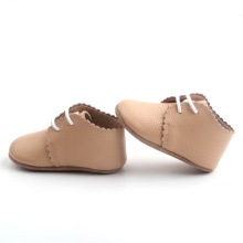 Wholesale handmade soft first-step leather baby shoes