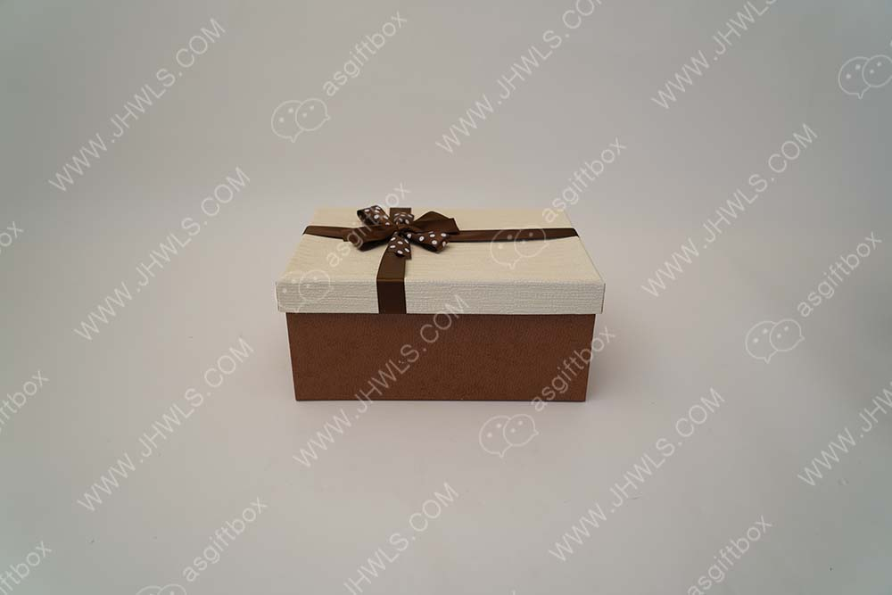 Rectangular candy box
