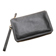 Quality for Leather Clutch Bags Leather Business Wrist Clutch Bag Case Pouch Purse supply to Falkland Islands (Malvinas) Wholesale