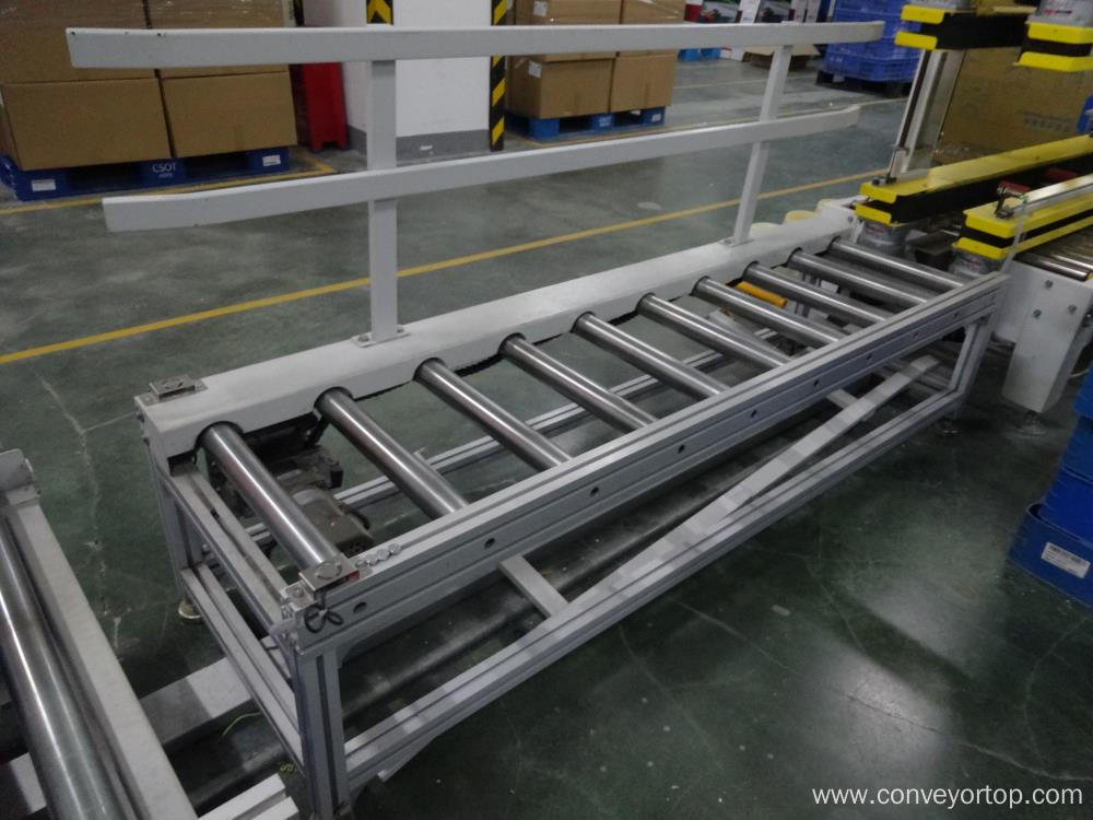 Chain Driven Roller Conveyor Package Line