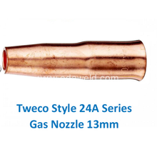 Top for Gas Cutting Nozzle,Automatic Gas Injector Nozzle,Automatic Gas Filling Nozzle Supplier in China Tweco 24A50 Gas Nozzle export to New Zealand Suppliers