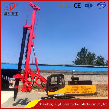 Good quality  rotary hydraulic pile driving machine