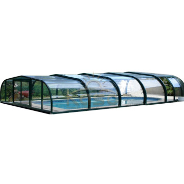 High Quality for Polycarbonate Swimming Pool Enclosures Year Round Swimming Enclosure Wooden Pool Cover export to Marshall Islands Manufacturers