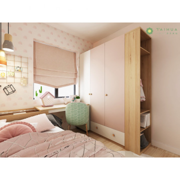 Customized Kid's Bedroom Pink and Light Green