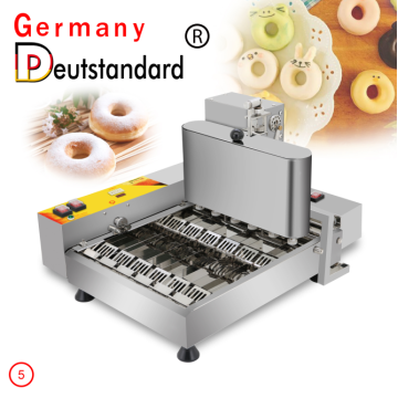 commercial donut making machine 6 line donut maker